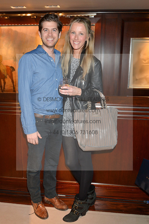 JACK & KATE FREUD at a party to celebrate the publication of Front Roe by Louise Roe held at Ralph Lauren, 1 New Bond Street, London on 1st April 2015.