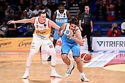 Sobin Josip Chapman Clint<br /> Carpegna Prosciutto Basket Pesaro - Vanoli Cremona<br /> Lega Basket Serie A 2019/2020<br /> Pesaro, 01/12/2019<br /> Foto A.Giberti / Ciamillo - Castoria