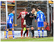 Josh Lillis during the Sky Bet League 1 match between Bradford City and Rochdale at the Coral Windows Stadium, Bradford, England on 20 February 2016. Photo by Daniel Youngs.