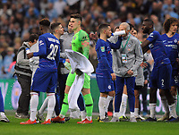 Football - 2019 EFL League Cup Final (Carabao Cup) - Manchester City vs. Chelsea<br /> <br /> Chelsea goalkeeper, Kepa Arrizabalaga before the penalty shoot out after he refused to come off during the match at Wembley Stadium.<br /> <br /> COLORSPORT/ANDREW COWIE