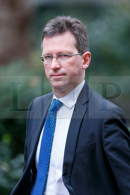 © Licensed to London News Pictures. 21/02/2017. London, UK. Attorney General JEREMY WRIGHT attends a cabinet meeting in Downing Street, London on Tuesday, 21 February  2017. Photo credit: Tolga Akmen/LNP