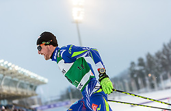 19.02.2016, Salpausselkae Stadion, Lahti, FIN, FIS Weltcup Nordische Kombination, Lahti, Langlauf, im Bild Francois Braud (FRA) // Francois Braud of France competes during Cross Country Gundersen Race of FIS Nordic Combined World Cup, Lahti Ski Games at the Salpausselkae Stadium in Lahti, Finland on 2016/02/19. EXPA Pictures © 2016, PhotoCredit: EXPA/ JFK