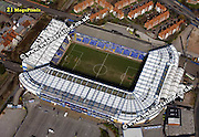aerial photograph of Birmingham City stadium Birmingham England UK
