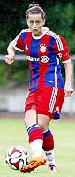 DETTE BILDET INNGÅR IKKE I FASTAVTALER PÅ NETT OG VIL BLI FAKTURERT VED SLIK BRUK.<br /> <br /> Fotball<br /> 15.08.2014<br /> Foto: imago/Digitalsport<br /> NORWAY ONLY<br /> <br /> FC Bayern München vs Paris St. Germain<br /> <br /> Nora Holstad Berge (Bayern 15)