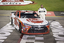 April 21, 2018 - Richmond, Virginia, United States of America - April 20, 2018 - Richmond, Virginia, USA: Cole Custer (00) Christopher Bell (20) wins the ToyotaCare 250 at Richmond Raceway in Richmond, Virginia. (Credit Image: © Stephen A. Arce/ASP via ZUMA Wire)