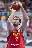 Spain Nacho Llovet during FIBA European Qualifiers to World Cup 2019 between Spain and Slovenia at Coliseum Burgos in Madrid, Spain. November 26, 2017. (ALTERPHOTOS/Borja B.Hojas)