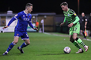 Forest Green Rovers Elliott Frear(17) on the ball during the EFL Sky Bet League 2 match between Forest Green Rovers and Carlisle United at the New Lawn, Forest Green, United Kingdom on 28 January 2020.