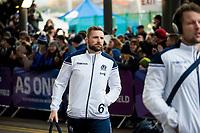 Rugby Union - 2017 Autumn Internationals - Scotland vs. Australia<br /> <br /> John Barclay of Scotland arrives at Murrayfield.<br /> <br /> COLORSPORT