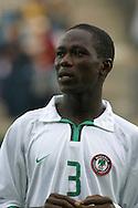 13.08.2003, Kupittaa Stadium, Turku, Finland.FIFA U-17 World Championship - Finland 2003.Match 4: Group B - Costa Rica v Nigeria.Awwalu Aminu - Nigeria.©Juha Tamminen