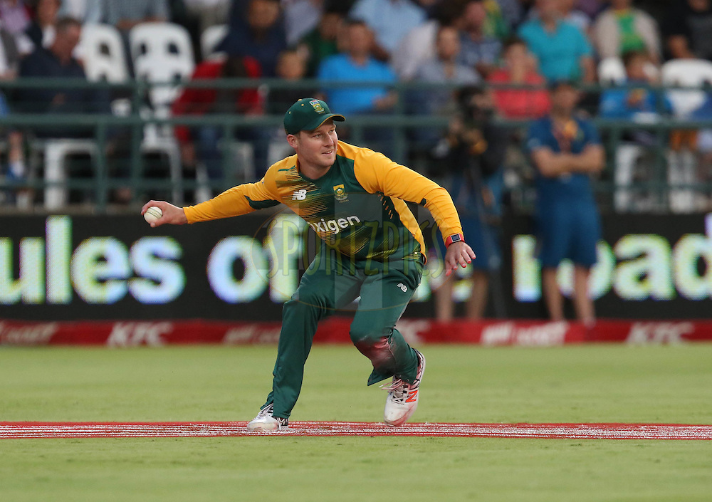 David Miller during the First KFC T20 Match between South Africa and England played at Newlands Stadium, Cape Town, South Africa on February 19th 2016