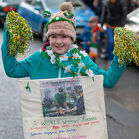 Ellen Coughlin from Ennis taking part in the Tulla St Patrick's Day Parade