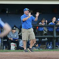 Adam Robison | BUY AT PHOTOS.DJOURNAL.COM<br /> Tupelo softball coach Dana Rhea signals in a play in the fourth inning against Hamilton.
