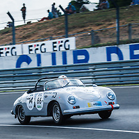 #66, PORSCHE 356 A Speedster 1957, grid 3, drivers: P. DR. KOLLING / A. KAINER / K. LUDWIG, on 06/07/2018 at the 24H of Le Mans, 2018