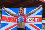 Jodie WILLIAMS, winner of the Women's 200m Final during the Muller British Athletics Championships at Alexander Stadium, Birmingham, United Kingdom on 25 August 2019.