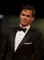 Actor Nicholas Hoult at the gala screening for the film Equals at the 72nd Venice Film Festival, Saturday September 5th 2015, Venice Lido, Italy.