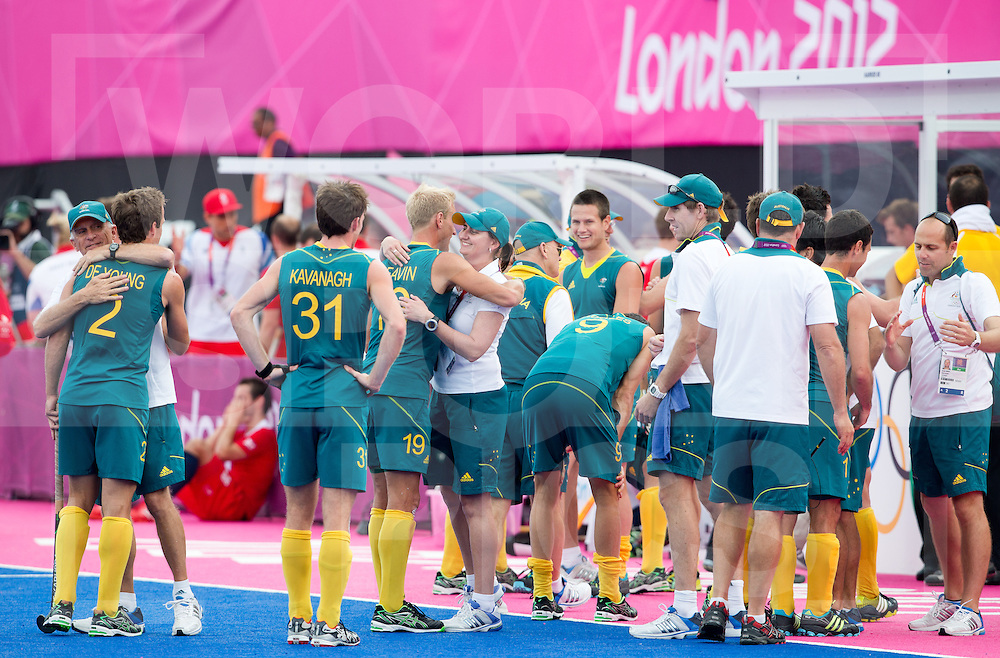 London Olympics 11/08/2012.Mens Hockey Bronze medal Match.Australia v Great Britain....Photo: Grant Treeby