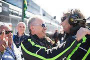 January 25-26, 2020. IMSA Weathertech Series. Rolex Daytona 24hr. Maurizio Reggiani, head of Lamborghini R&D, Rene Sueltzner, Head of Lamborghini Aftersales