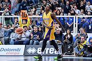 DESCRIZIONE : Trento Beko All Star Game 2016 Mini Slam Dunk Contest<br /> GIOCATORE : Awudu Abass Maglia Lakers Kobe Bryant<br /> CATEGORIA : Ritratto Esultanza Tifosi Pubblico Spettatori<br /> SQUADRA : Acqua Vitasnella Cantù<br /> EVENTO : Beko All Star Game 2016<br /> GARA : Mini Slam Dunk Contest<br /> DATA : 10/01/2016<br /> SPORT : Pallacanestro <br /> AUTORE : Agenzia Ciamillo-Castoria/L.Canu