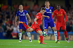 LONDON, ENGLAND - Friday, September 16, 2016: Liverpool's Philippe Coutinho Correia in action against Chelsea during the FA Premier League match at Stamford Bridge. (Pic by David Rawcliffe/Propaganda)