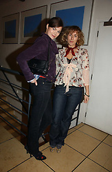 Left to right, model JASMINE GUINNESS and her sister in law CYNTHIA RAINEY at a party to celebrate the publication of Tom Sykes's book 'What Did I Do Last Night?' held at Centuary, Shaftesbury Avenue, London on 16th January 2007.<br /><br />NON EXCLUSIVE - WORLD RIGHTS