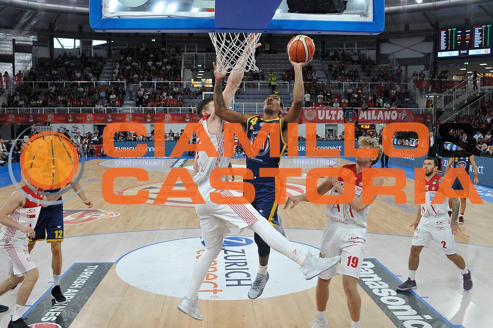 Carr Tony<br /> A|X Armani Exchange Milano - Fiat Torino<br /> Zurich Connect Supercoppa 2018-2019<br /> Lega Basket Serie A<br /> Brescia 30/09/2018<br /> Foto Ciamillo &amp; Castoria