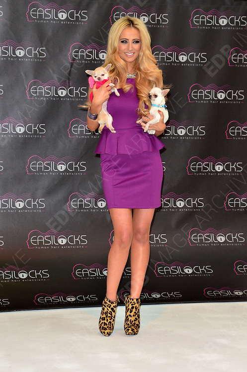 05.DECEMBER.2012. LONDON<br /> <br /> CHANTELLE HOUGHTON ATTENDS PHOTOCALL AS NEW FACE OF EASILOCKS HAIR EXTENSIONS<br /> <br /> BYLINE:JOE ALVAREZ / EDBIMAGEARCHIVE.CO.UK<br /> <br /> *THIS IMAGE IS STRICTLY FOR UK NEWSPAPERS AND MAGAZINES ONLY*<br /> *FOR WORLD WIDE SALES AND WEB USE PLEASE CONTACT EDBIMAGEARCHIVE - 0208 954 5968*