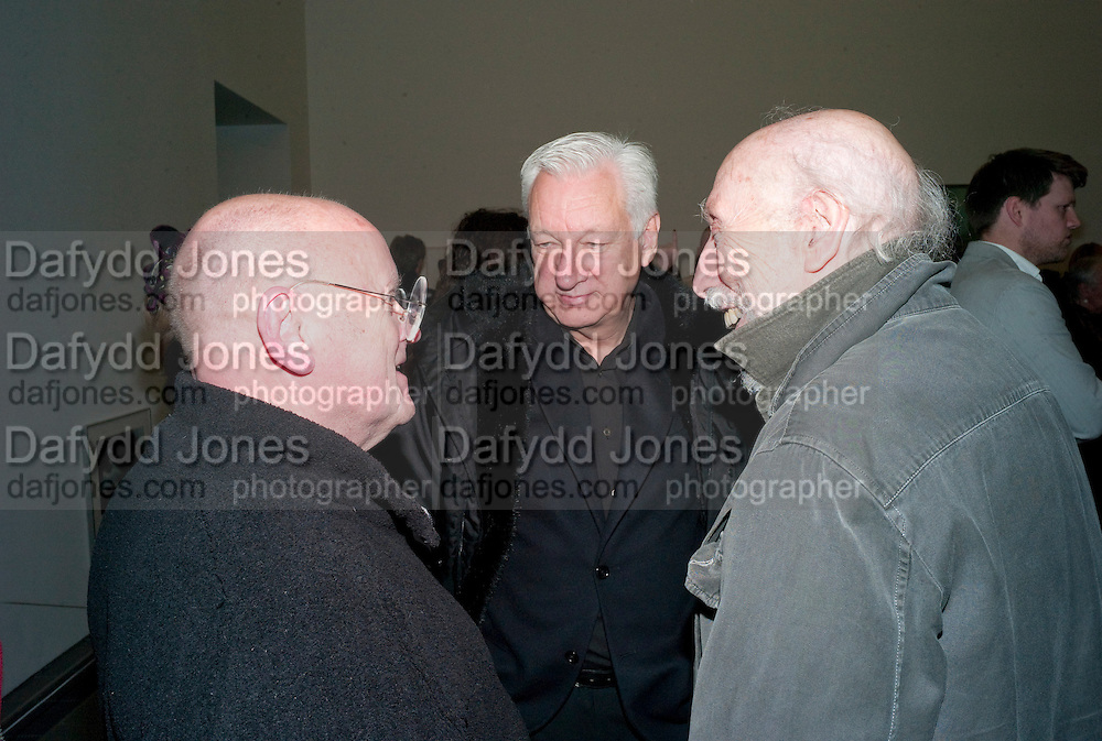 RALPH SELBY; MICHAEL CRAIG-MARTIN; RICHARD HAMILTON;, Modern Moral Matters. Exhibition of work by Richard Hamilton. Serpentine. London. 2 March 2010