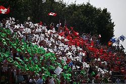 08.09.2014, Autodromo di Monza, Monza, ITA, FIA, Formel 1, Grand Prix von Italien, Renntag, im Bild Tifosi italiani, with an italian flag // during the race day of Italian Formula One Grand Prix at the Autodromo di Monza in Monza, Italy on 2014/09/08. EXPA Pictures © 2014, PhotoCredit: EXPA/ Eibner-Pressefoto/ Cezaro<br /> <br /> *****ATTENTION - OUT of GER*****