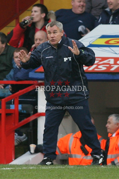 London, England - Saturday, January 27, 2007: Crystal Palace's Peter Taylor against Preston North End during the FA Cup 5th Round match at Selhurst Park. (Pic by Chris Ratcliffe/Propaganda)