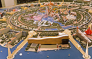model of the new huge project of Stanley ho between Taipa and Coloane island  Macau  Macao    ///  maquette du nouveau projet de stanley Ho entre Taipa et Coloane  Macao  Macao  /// R00228/26    L3119  /  R00228  /  P0006569
