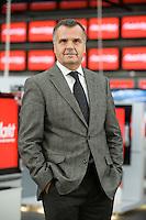 16 DEC 2008, BERLIN/GERMANY:<br /> Leopold Stiefel, Unternehmer, Mitbegruender der Elektrogrossmarktkette Media Markt, ehem. Geschaeftsfuehrer und Gesellschafter der Media-Saturn-Holding, im Media Markt, Alexia Einkaufszentrum, Alexanderplatz<br /> IMAGE: 20081216-01-015