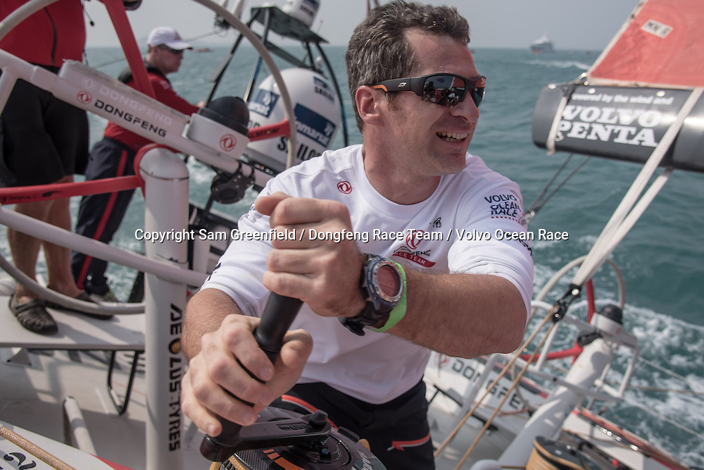 February, 2015. Leg 4 Start  to Auckland onboard Dongfeng Race Team. Day 01.