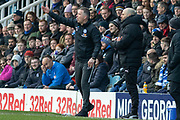 Darren Ferguson during the EFL Sky Bet League 1 match between Peterborough United and Rotherham United at London Road, Peterborough, England on 25 January 2020.
