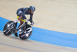 March 2, 2019 - Pruszkow, Poland - Nicholas Paul (TTO) competes in the Men's sprint qualifying race on day four of the UCI Track Cycling World Championships held in the BGZ BNP Paribas Velodrome Arena on March 02 2019 in Pruszkow, Poland. (Credit Image: © Foto Olimpik/NurPhoto via ZUMA Press)