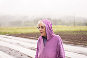 Anne Berblinger of Gales Meadow Farm in Forest Grove, Oregon.