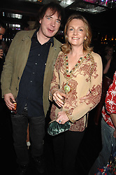 JULIAN LLOYD WEBBER and LADY LLOYD-WEBBER at a party to celebrate Imogen Lloyd Webber's 30th birthday and the launch of her Single Girl's Guide held at Vilstead, 9 Swallow Street, London on 27th March 2007.<br /><br />NON EXCLUSIVE - WORLD RIGHTS