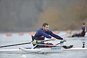 Caversham, United Kingdom. GBR. ASM M1X, Tom AGGAR,  2012 GBRowing Adaptive (Paralympic) Press Conference 6 Months to go. Wednesday  29/02/2012  [Mandatory Credit; Peter Spurrier/Intersport-images]