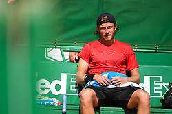 April 17, 2018 - Monaco, Monaco - Lucas Pouille (Credit Image: © Panoramic via ZUMA Press)