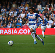 Massimo Luongo (QPR midfielder) trying to bring a spark into the first half during the Sky Bet Championship match between Queens Park Rangers and Nottingham Forest at the Loftus Road Stadium, London, England on 12 September 2015. Photo by Matthew Redman.