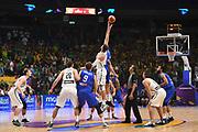 Jonas Valanciunas<br /> Nazionale Italiana Maschile Senior<br /> Eurobasket 2017 - Group Phase<br /> Lituania Italia Lithuania Italy<br /> FIP 2017<br /> Tel Aviv, 03/09/2017<br /> Foto M.Ceretti / Ciamillo - Castoria