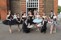 Ballerinas of The English National Ballet English National Ballet Summer Party, The Orangery, Kensington Palace, London, UK, 29 June 2011:  Contact: Rich@Piqtured.com +44(0)7941 079620 (Picture by Richard Goldschmidt)