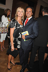 Actress TINA HOBLEY and her husband OLIVER WHEELER at the Royal Academy of Arts Summer Exhibition Party at the Royal Academy, Piccadilly, London on 6th June 2007.<br />