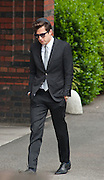 Mark Ronson leaves Amy's Winehouse funeral at Golders Green Crematorium July 26.2011... Signer Amy Winehouse who was found dead in her flat on July 23 in London..Tributes have been paid to singer Amy Winehouse, 27, has been found dead at her north London home on July 23rd 2011...A Metropolitan Police spokesman said the cause of Winehouse's death was as yet unexplained...The Brit and Grammy award-winner had struggled with drink and drug addiction and had recently spent time in rehab....