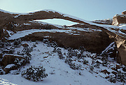 Winter, Snow, Sandstone, Arches, Arches National Park, Utah
