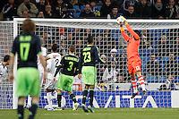 04.12.2012 SPAIN -  Champions League 12/13 Matchday 6th  match played between Real Madrid CF vs AFC Ajax (4-1) at Santiago Bernabeu stadium. The picture show Antonio Adan Garrido (Spanish goalkeeper Real Madrid)