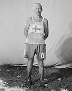 38 Jussi Hamalainen 66 Van Nuys CA 29:13.<br /> <br /> Finish line portraits at the Angeles Crest 100-Mile Endurance Run. July 22, 2012. Loma Alta Park, Altadena CA.