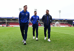 Joe Partington of Bristol Rovers James Clarke of Bristol Rovers Lee Mansell of Bristol Rovers - Mandatory by-line: Alex James/JMP - 21/01/2017 - FOOTBALL - Banks's Stadium - Walsall, England - Walsall v Bristol Rovers - Sky Bet League One