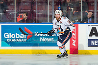 KELOWNA, BC - MARCH 09: Zane Franklin #16 of the Kamloops Blazers skates against the Kelowna Rockets at Prospera Place on March 9, 2019 in Kelowna, Canada. (Photo by Marissa Baecker/Getty Images)