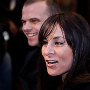 NLD/Amsterdam/20100412 - Premiere film de Gelukkige Huisvrouw, Trijntje Oosterhuis en partner Sander van Eeden