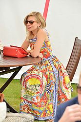 SIENNA MILLER at the Cartier Queen's Cup Final 2016 held at Guards Polo Club, Smiths Lawn, Windsor Great Park, Egham, Surrey on 11th June 2016.